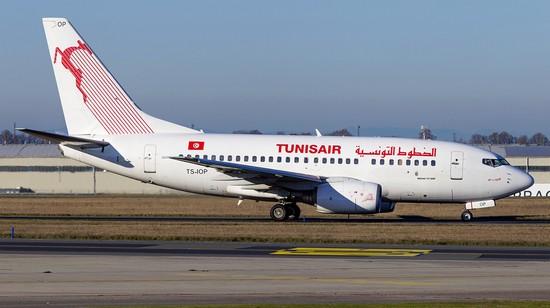 самолет Tunisair